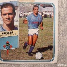 Cromos de Fútbol: CROMO DE FUTBOL HERRERA CELTA DE VIGO LIGA 89 90 1989 1990 EDICIONES ESTE BAJA CASI NUEVO. Lote 147836030