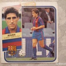 Cromos de Fútbol: CROMO DE FÚTBOL CASI NUEVO TEMPORADA 89 90 1989 1990 EDICIONES ESTE ROURA BARCELONA. Lote 147838018