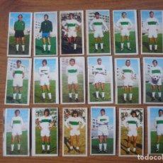 Cromos de Fútbol: LOTE 18 CROMOS DIFERENTES ELCHE ALBUM ESTE 75 76 - NUNCA PEGADOS - FUTBOL LIGA 1975 1976. Lote 147883446