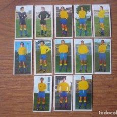 Cromos de Fútbol: LOTE 13 CROMOS DIFERENTES U D LAS PALMAS ALBUM ESTE 75 76 - NUNCA PEGADOS - FUTBOL LIGA 1975 1976. Lote 147885454