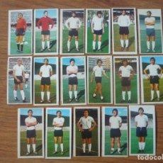 Cromos de Fútbol: LOTE 17 CROMOS DIFERENTES U D SALAMANCA ALBUM ESTE 75 76 - NUNCA PEGADOS - FUTBOL LIGA 1975 1976. Lote 147887314
