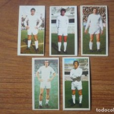 Cromos de Fútbol: LOTE 5 CROMOS DIFERENTES REAL MADRID ALBUM ESTE 75 76 - NUNCA PEGADOS - FUTBOL LIGA 1975 1976. Lote 147889574