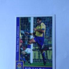 Cromos de Fútbol: Nº 218 OLIAS (LAS PALMAS) - CROMO DE FÚTBOL FICHAS LIGA 2001-2002 MUNDICROMO 01-02. Lote 147939270