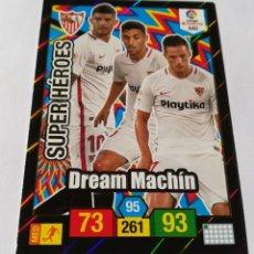 Cromos de Fútbol: ADRENALYN 2018/2019 SUPER HEROES SEVILLA FC ( DREAM MACHÍN ) - CÓDIGOS SIN ACTIVAR.. Lote 147948574