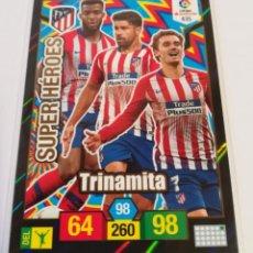 Cromos de Fútbol: ADRENALYN 2018/2019 SUPER HEROES ATLETICO DE MADRID ( TRINAMITA ) - CÓDIGOS SIN ACTIVAR.. Lote 147948642