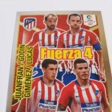 Cromos de Fútbol: ADRENALYN 2018/2019 FUERZA 4 ATLETICO DE MADRID - CÓDIGOS SIN ACTIVAR.. Lote 147948978