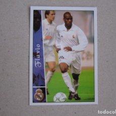 Cromos de Fútbol: MUNDICROMO FICHAS LIGA 2003 2002 FICHAJE + I Nº 577 FLAVIO CONCEIÇAO REAL MADRID 02 03 NUEVO. Lote 221702938