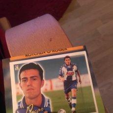 Cromos de Fútbol: ESTE 2000 2001 00 01 OSCAR ESPAÑOL COLOCA VENTANILLA. Lote 148233053