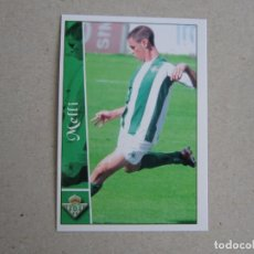 Cromos de Fútbol: MUNDICROMO FICHAS LIGA 2003 2002 FICHAJE + III Nº 659 MELLI BETIS 02 03 NUEVO. Lote 194622626