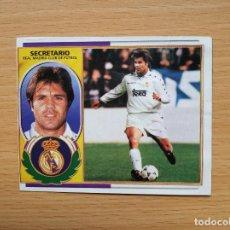 Cromos de Fútbol: FICHAJE 18 VERSION FOTOMONTAJE SECRETARIO REAL MADRID EDICIONES ESTE 1996 1997 96 97 LEERDESCRIPCION. Lote 148743822