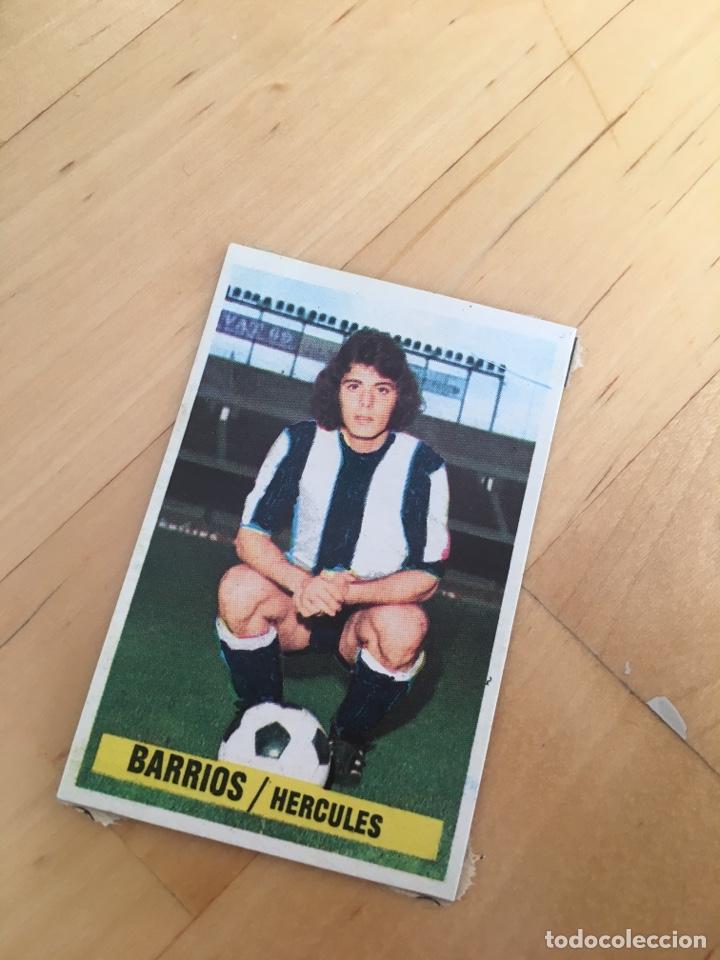 ESTE 74 75 1974 1975 BARRIOS HÉRCULES FICHAJE 7 DESPEGADO (Sammelleidenschaft Sport - Sport-Sammelalben und Sticker - Fußball-Sticker)