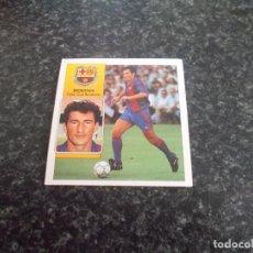 Cromos de Fútbol: CROMO ESTE 92/93 /( BARCELONA )BEGIRISTAIN / NUNCA PEGADO . Lote 148801754