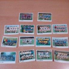 Cromos de Fútbol: LIGA 80 81 - LOTE 14 ALINEACIONES 2 DIVISIÓN DESPEGADOS SIN MARCAS - -CROMO CROM PANINI - VER FOTOS. Lote 148842074