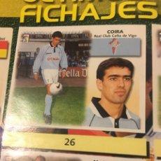 Cromos de Fútbol: ESTE 99 00 1999 2000 RECORTADO CELTA COIRA FICHAJE 26. Lote 149002965