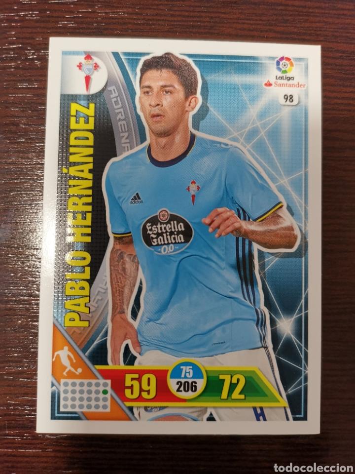 PABLO HERNÁNDEZ (Coleccionismo Deportivo - Álbumes y Cromos de Deportes - Cromos de Fútbol)