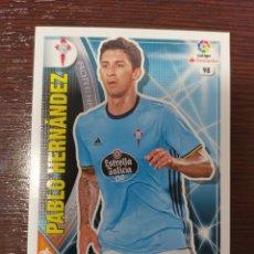 Cromos de Fútbol: PABLO HERNÁNDEZ. Lote 149208401