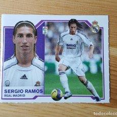 Cromos de Fútbol: CROMO LIGA ESTE 07-08 SERGIO RAMOS REAL MADRID 2007/2008 - SIN PEGAR. Lote 149661070