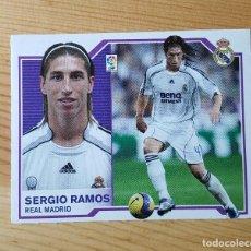 Cromos de Fútbol: CROMO LIGA ESTE 07-08 SERGIO RAMOS REAL MADRID 2007/2008 - SIN PEGAR. Lote 149661094