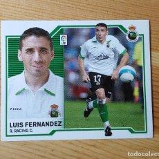 Cromos de Fútbol: CROMO LIGA ESTE 07-08 LUIS FERNADEZR. SANTANDER C. 2007/2008 - SIN PEGAR. Lote 149662562