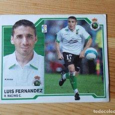 Cromos de Fútbol: CROMO LIGA ESTE 07-08 LUIS FERNANDEZ RACING C. 2007/2008 - SIN PEGAR. Lote 149662598
