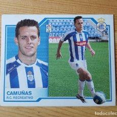 Cromos de Fútbol: CROMO LIGA ESTE 07-08 CAMUÑAS R.C. RECREATIVO 2007/2008 - SIN PEGAR. Lote 149662814