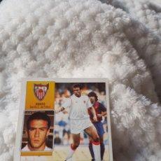 Cromos de Fútbol: CROMO SIN PEGAR LIGA ESTE 92 93 COLOCA BANGO SEVILLA. Lote 149711333