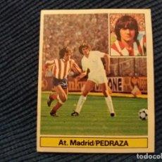 Cromos de Fútbol: 81/82 ESTE. NUNCA PEGADO AT. MADRID BAJA PEDRAZA . Lote 150026410