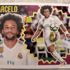 Cromos de Fútbol: MARCELO Nº 7 A - REAL MADRID - LIGA 2018 - 2019 18 19. Lote 177625405