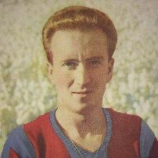 Cromos de Fútbol: CROMO BASORA. CLUB DE FÚTBOL BARCELONA. CAMPEÓN DE ESPAÑA 1950-51 F.C.B. CASTELLBLANCH. Lote 114420995