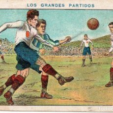 Cromos de Fútbol: LOS GRANDES PARTIDOS, ASTURIAS - CATALUÑA. Lote 150216246