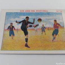 Cromos de Fútbol: LOS ASES DEL FOOT-BALL NUMERO 10 ALFONSO XIII MALLORCA CROMO ANTIGUO FUTBOL CHOCOLATE SEBASTIAN PRAT. Lote 150247432