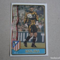 Cartes à collectionner de Football: MUNDICROMO FICHAS LIGA 96 97 Nº 3 MOLINA ATLETICO MADRID 1996 1997. Lote 232382590