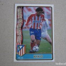 Cartes à collectionner de Football: MUNDICROMO FICHAS LIGA 96 97 Nº 15 KIKO ATLETICO MADRID 1996 1997. Lote 245726935