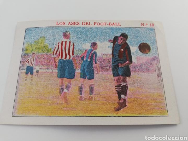 LOS ASES DEL FOOT-BALL NUMERO 18, SANCHO FC BARCELONA CROMO ANTIGUO FUTBOL BARÇA (Coleccionismo Deportivo - Álbumes y Cromos de Deportes - Cromos de Fútbol)