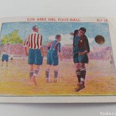 Cromos de Fútbol: LOS ASES DEL FOOT-BALL NUMERO 18, SANCHO FC BARCELONA CROMO ANTIGUO FUTBOL BARÇA. Lote 150249781
