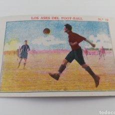Cromos de Fútbol: LOS ASES DEL FOOT-BALL NUMERO 19 ALFONSO XIII MALLORCA CROMO ANTIGUO FUTBOL CHOCOLATE SEBASTIAN PRAT. Lote 150250209