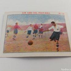 Cromos de Fútbol: LOS ASES DEL FOOT-BALL NUMERO 22 TENA CE CS SABADELL CROMO ANTIGUO FUTBOL CHOCOLATE SEBASTIAN PRAT. Lote 150255024