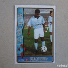 Figurine di Calcio: MUNDICROMO FICHAS LIGA 96 97 ULTIMA HORA Nº 186 UH MAZINHO CELTA 1996 1997. Lote 276726468