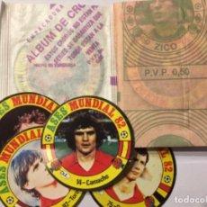 Cromos de Fútbol: ASES MUNDIAL ESPAÑA 82 2 SOBRES SIN ABRIR NARANJITO. Lote 151458649