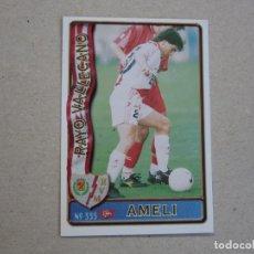 Figurine di Calcio: MUNDICROMO FICHAS LIGA 96 97 ULTIMA HORA Nº 333 UH AMELI RAYO VALLECANO 1996 1997. Lote 280451508