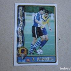 Figurine di Calcio: MUNDICROMO FICHAS LIGA 96 97 ULTIMA HORA Nº 350 UH BENITO SANCHEZ HERCULES 1996 1997. Lote 285066333