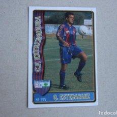 Figurine di Calcio: MUNDICROMO FICHAS LIGA 96 97 Nº 395 QUIQUE ESTEBARANZ EXTREMADURA 1996 1997. Lote 259300935