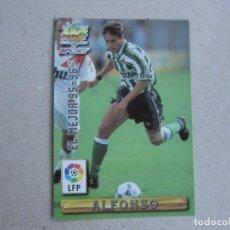 Cartes à collectionner de Football: MUNDICROMO FICHAS LIGA 96 97 EL MEJOR Nº 407 ALFONSO BETIS 1996 1997. Lote 242208035