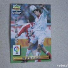 Cartes à collectionner de Football: MUNDICROMO FICHAS LIGA 96 97 EL MEJOR Nº 413 MARCOS SEVILLA 1996 1997. Lote 247197135