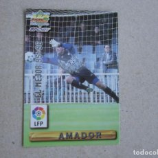 Cartes à collectionner de Football: MUNDICROMO FICHAS LIGA 96 97 EL MEJOR Nº 421 AMADOR EXTREMADURA 1996 1997. Lote 242204855