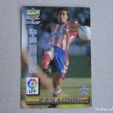 Cartes à collectionner de Football: MUNDICROMO FICHAS LIGA 96 97 SUPERSTARS Nº 426 ESNAIDER CAMINERO ATLETICO MADRID 1996 1997. Lote 242208100