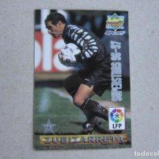 Cartes à collectionner de Football: MUNDICROMO FICHAS LIGA 96 97 SUPERSTARS Nº 427 ZUBIZARRETA PIOJO LOPEZ VALENCIA 1996 1997. Lote 251255250