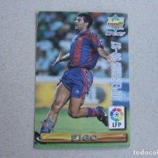 Cartes à collectionner de Football: MUNDICROMO FICHAS LIGA 96 97 SUPERSTARS Nº 430 FIGO VITOR BAIA BARCELONA 1996 1997. Lote 254094705