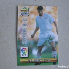 Figurine di Calcio: MUNDICROMO FICHAS LIGA 96 97 SUPERSTARS Nº 445 ALMEYDA RAMIS SEVILLA 1996 1997. Lote 268288644