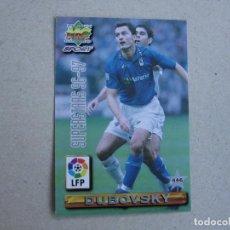 Cartes à collectionner de Football: MUNDICROMO FICHAS LIGA 96 97 SUPERSTARS Nº 446 DUBOVSKY OVIEDO NIKIFOROV SPORTING GIJON 1996 1997. Lote 242203540